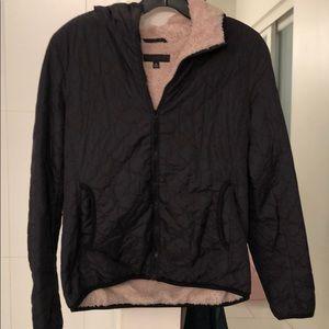 Uniqlo fur lined jacket